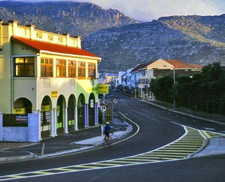 Dawn in Fish Hoek, SA