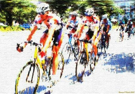 Racing Tapestry