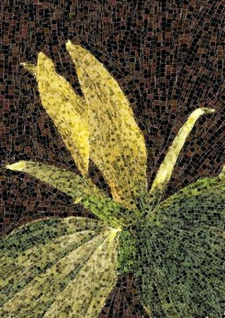 Yellow Trillium Mosaic