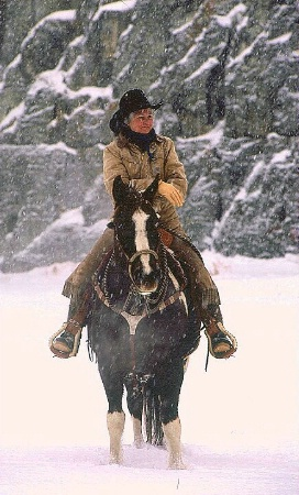 Rider in Snow 4