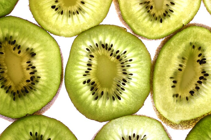 Kiwi fruit pattern
