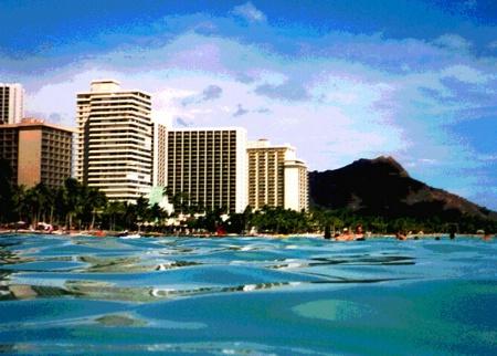 Waikiki Blue
