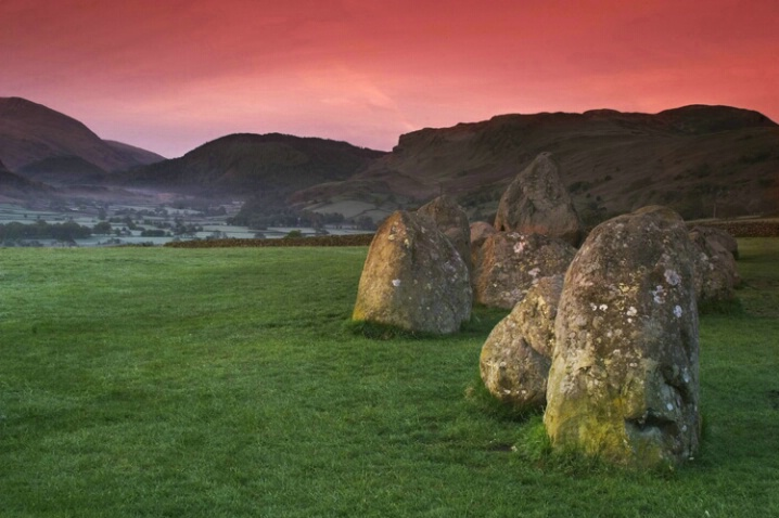 Castlerigg With Morning Tulle Fog