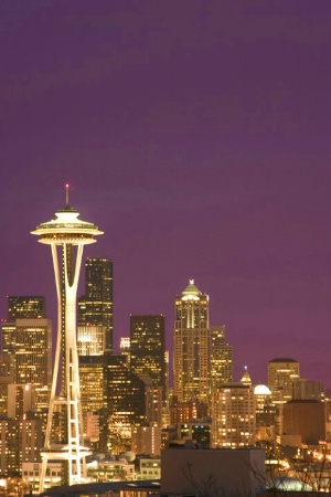 Space Needle and Purple Haze