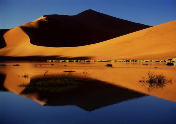 Reflections of the Namib