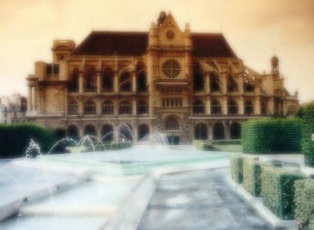St. Eustache Blur