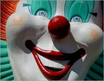boardwalk clown