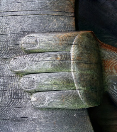 Carved Hand