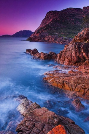 Freycinet Peninsula, East Coast Tasmania, Aus