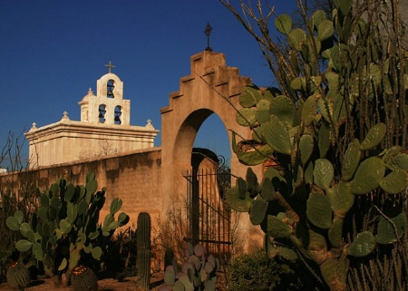 Chapel-Mission San Xavier del Bac