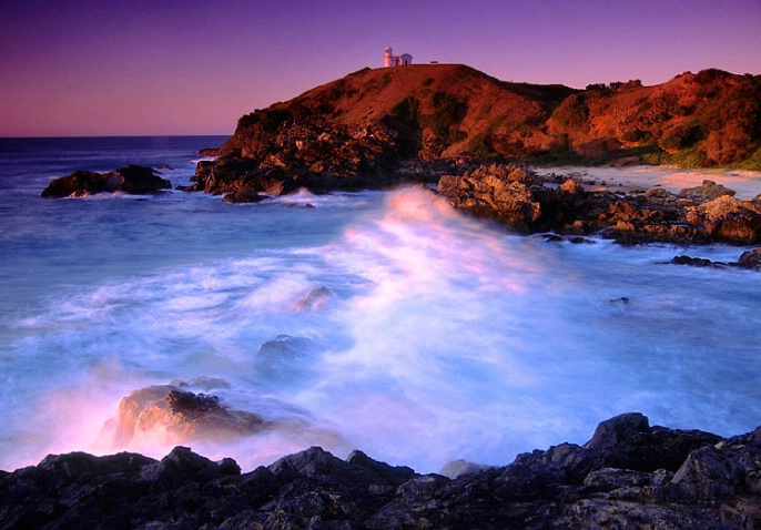 Port Macquarie Light House at Dawn