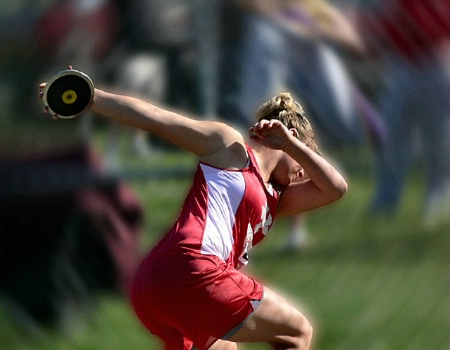 Girl Discus Thrower