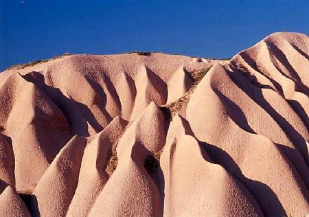 Hills of Magnificient Cappodocia.