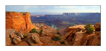 PANORAMIC FROM DEAD HORSE POINT