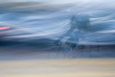 Panning Cyclist