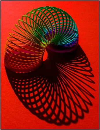 Slinky in Red