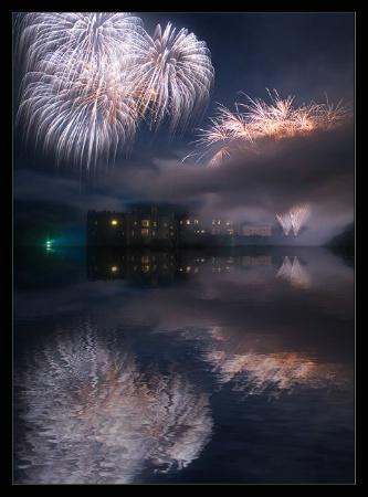 Firework Reflections