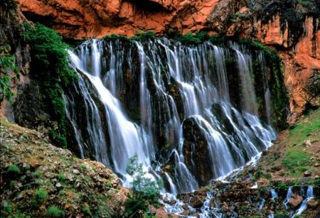 Kabuzbasi Waterfall, Turkey.