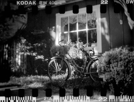 Bike at Antique Shop