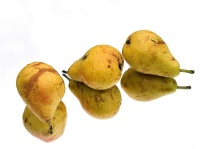 Pears on Glass