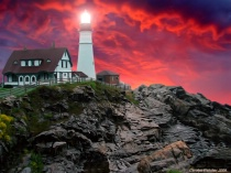 Portland Head Light Fantasy..