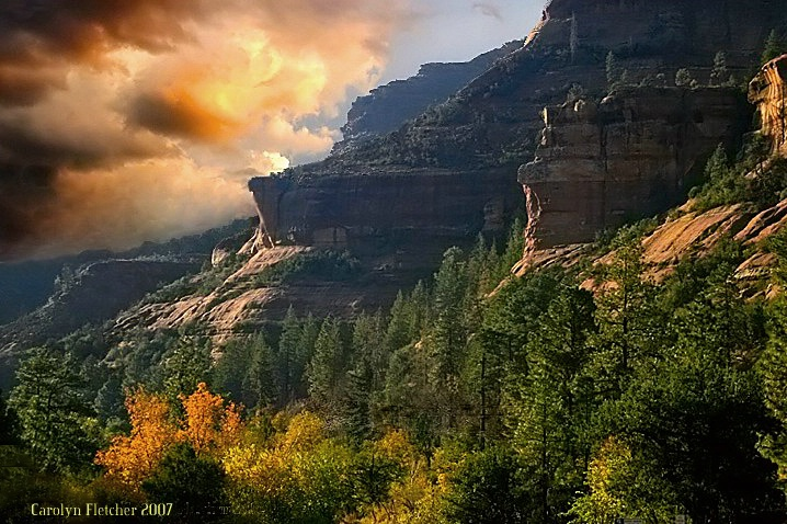 Sedona Autumn