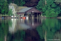Lakeside Reflections_5: House and Moorings