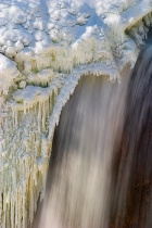 Frozen falls - directional lighting