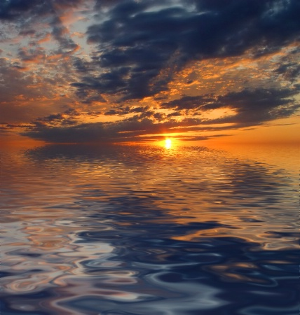 Interaction...Between Sky and Water