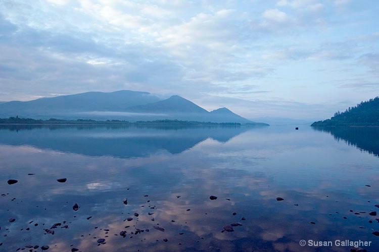 Beautiful morning at Bassenthwaite Lake
