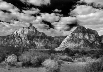 Red Rock in B&W 6