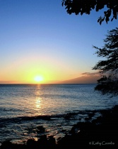 West Maui Sunset,...