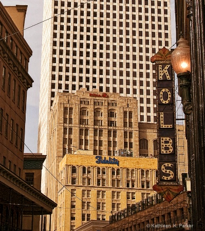 New Orleans Buildings Early A.M.