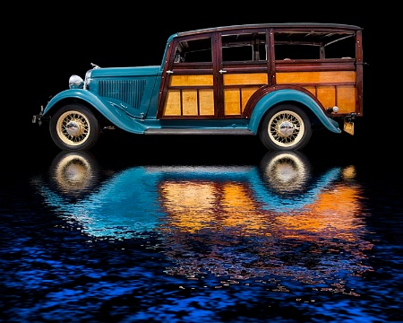 1933 Dodge Woodie