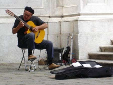 venice 2006 street musician
