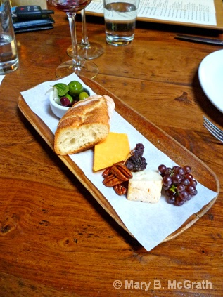 Cheese plate at Ford's Filling Station