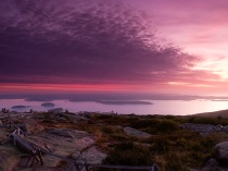 Cadillac Mountain...