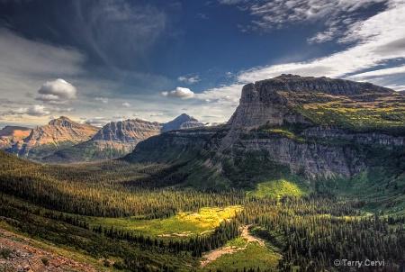 A Deep Mountain Valley