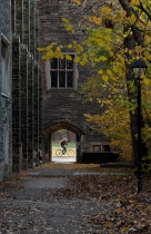 Looking through an Arch on U of T Campus