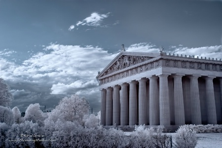 Blue Sky over the Parthenon
