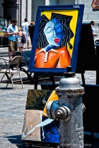 Lady in the Square _ Jackson Square