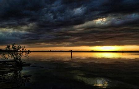 Sunset AtThe Point