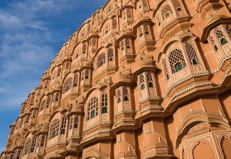 Small Windows of Hawa Mahal