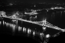 Budapest in night