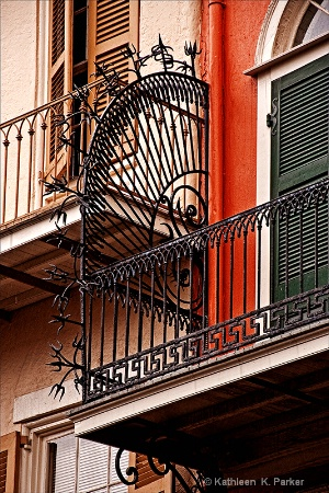 French Quarter Balconies, New Orleans