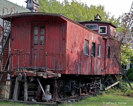 """Little Red Caboose"""