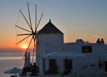 An Evening in Oia...