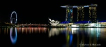 Reflections in the Marina Bay
