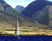 Sailing West Maui