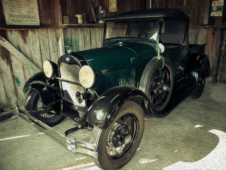 In Grandpa's Garage